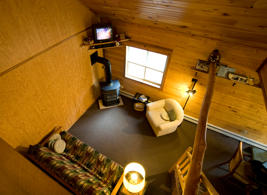 view from the loft in upper unit